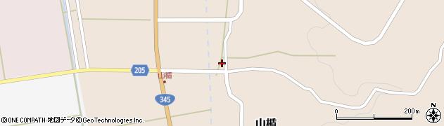山形県酒田市山楯清水田18周辺の地図