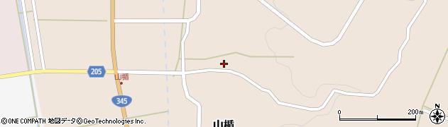 山形県酒田市山楯清水田20周辺の地図