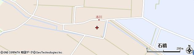 山形県酒田市本川22周辺の地図