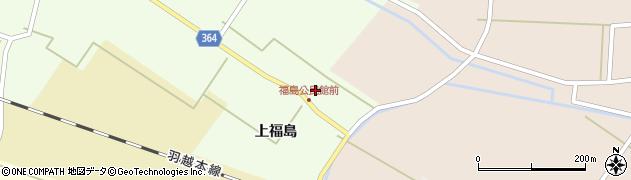 山形県酒田市熊手島上福島18周辺の地図