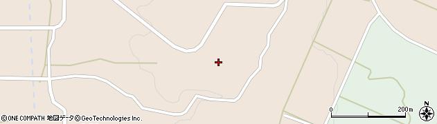 山形県酒田市山楯清水田66周辺の地図