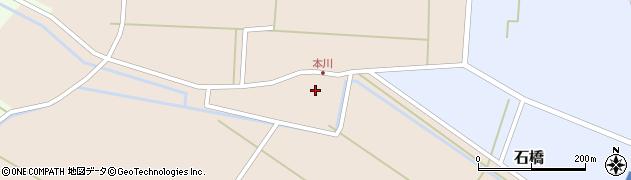 山形県酒田市本川21周辺の地図