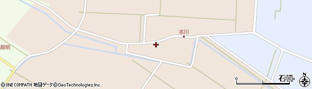 山形県酒田市本川30周辺の地図