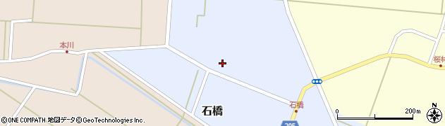 山形県酒田市石橋24周辺の地図