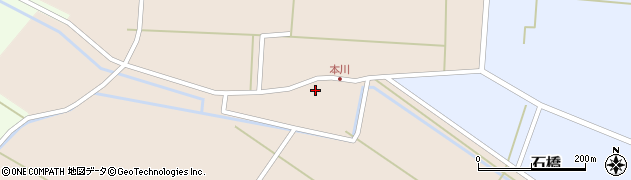 山形県酒田市本川25周辺の地図