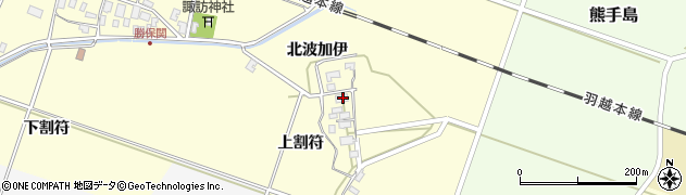 山形県酒田市勝保関上割符27周辺の地図