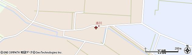 山形県酒田市本川20周辺の地図
