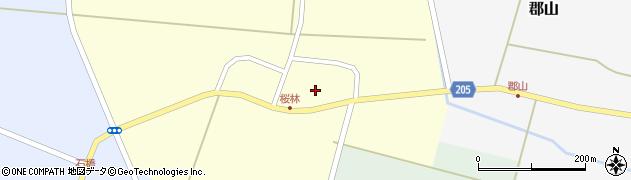 山形県酒田市桜林13周辺の地図
