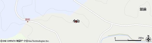 岩手県一関市千厩町小梨(小山)周辺の地図
