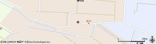 山形県酒田市本川40周辺の地図