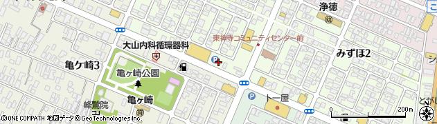 山形県酒田市みずほ1丁目20周辺の地図