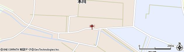 山形県酒田市本川19周辺の地図
