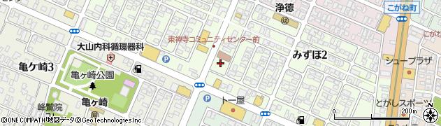 山形県酒田市みずほ2丁目周辺の地図
