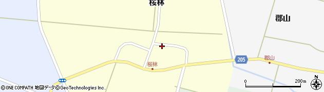 山形県酒田市桜林15周辺の地図