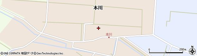 山形県酒田市本川43周辺の地図