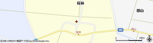 山形県酒田市桜林42周辺の地図