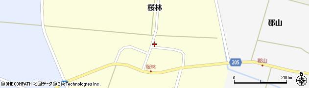 山形県酒田市桜林47周辺の地図