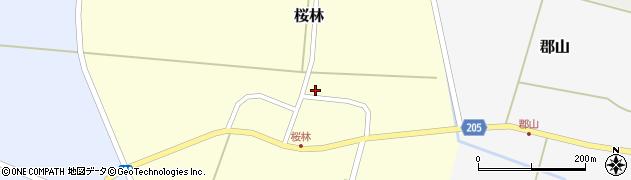 山形県酒田市桜林48周辺の地図