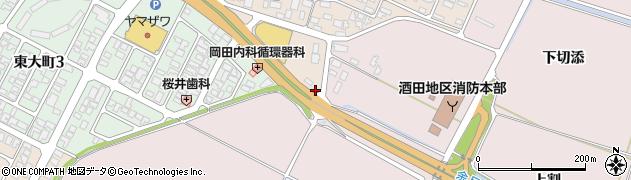 山形県酒田市四ツ興野430周辺の地図