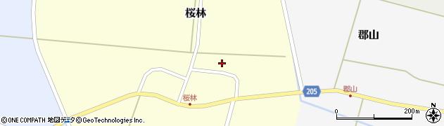 山形県酒田市桜林52周辺の地図