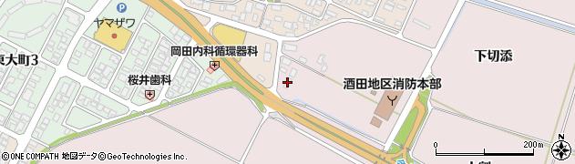 山形県酒田市大町上割70周辺の地図