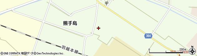 山形県酒田市熊手島手興屋74周辺の地図