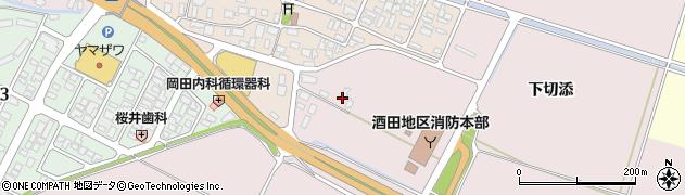 山形県酒田市大町上割50周辺の地図