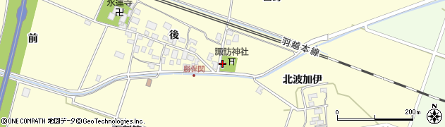山形県酒田市勝保関百野56周辺の地図