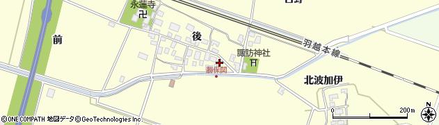 山形県酒田市勝保関前2周辺の地図