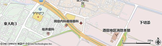 山形県酒田市四ツ興野434周辺の地図