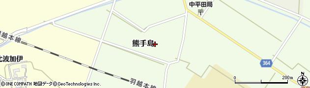 山形県酒田市熊手島(熊興屋)周辺の地図