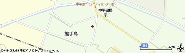 山形県酒田市熊手島熊興屋51周辺の地図