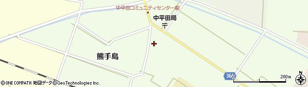 山形県酒田市熊手島手興屋77周辺の地図