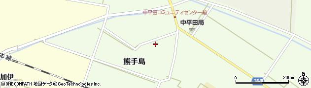 山形県酒田市熊手島熊興屋6周辺の地図