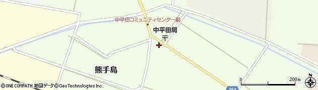 山形県酒田市熊手島手興屋78周辺の地図