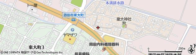 山形県酒田市四ツ興野99周辺の地図
