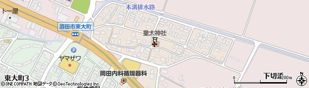 山形県酒田市四ツ興野8周辺の地図