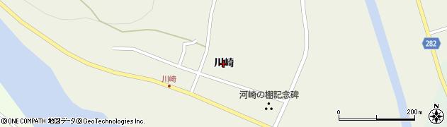 岩手県一関市川崎町門崎(川崎)周辺の地図