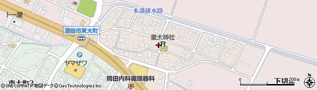 山形県酒田市四ツ興野82周辺の地図