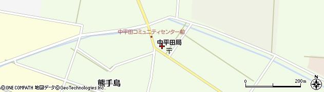 山形県酒田市熊手島中福島64周辺の地図