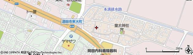 山形県酒田市四ツ興野94周辺の地図