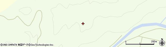 山形県酒田市中野俣岡谷地子周辺の地図
