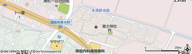 山形県酒田市四ツ興野65周辺の地図