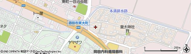 山形県酒田市四ツ興野96周辺の地図