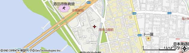 山形県酒田市堤町1周辺の地図