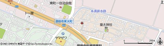 山形県酒田市四ツ興野95周辺の地図