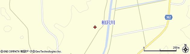 山形県酒田市北俣向中村周辺の地図