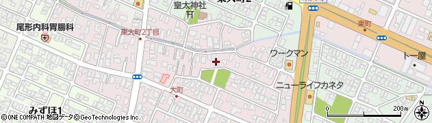 山形県酒田市大町10周辺の地図