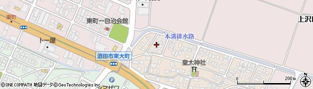 山形県酒田市四ツ興野2周辺の地図