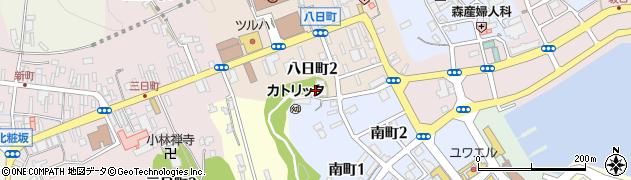 青龍寺周辺の地図